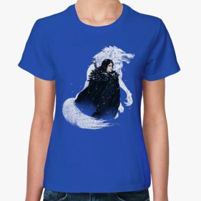 Женская футболка Lord Snow