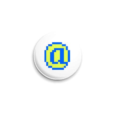 Значок 25мм  ICQ Статус #20