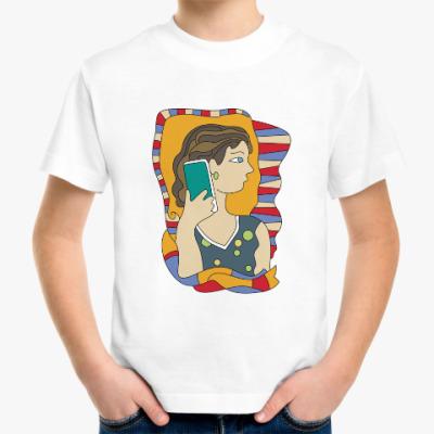 Детская футболка Подружки