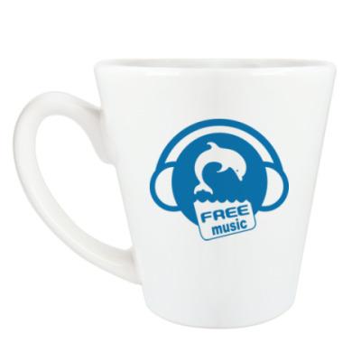 Чашка Латте Free Music