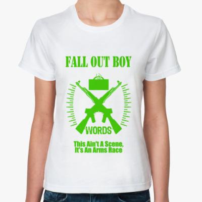 Классическая футболка FOB words gr