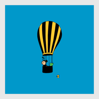 Постер Air Balloon