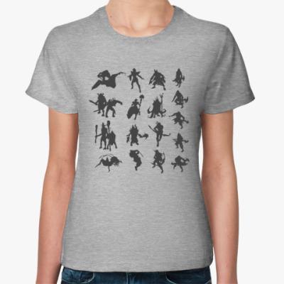 Женская футболка Dota 2 guess who