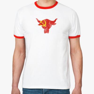 Футболка Ringer-T Team Bring It USSR