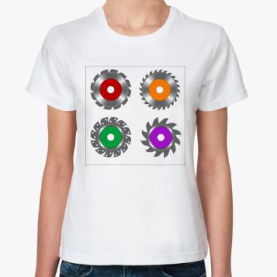 Классическая футболка Циркулярная пила