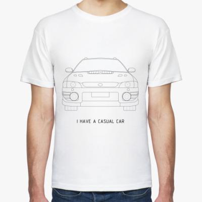 Футболка casual car