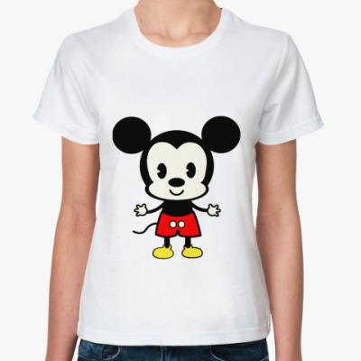 Классическая футболка Микки Маус