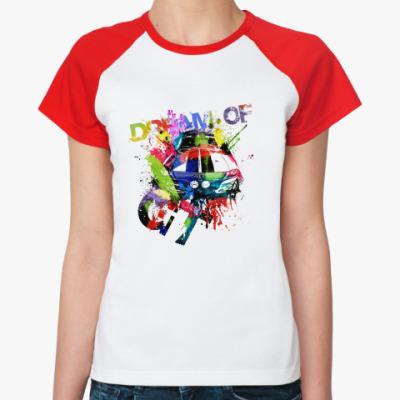 Женская футболка реглан GT  Ж ()