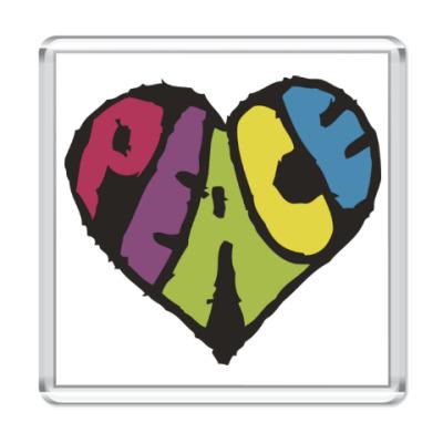 Магнит Сердце мира