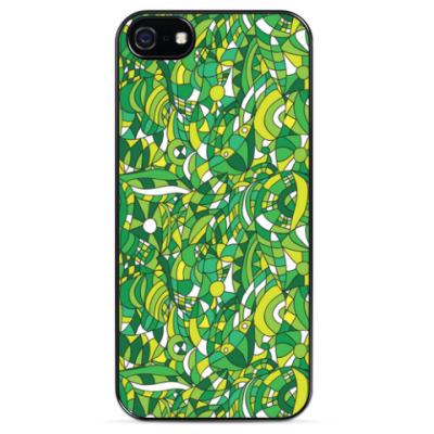 Чехол для iPhone 'Зеленое лето'