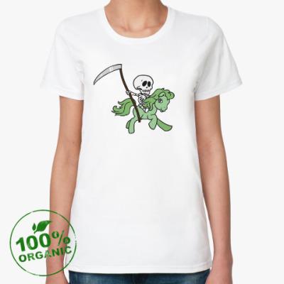 Женская футболка из органик-хлопка My little death