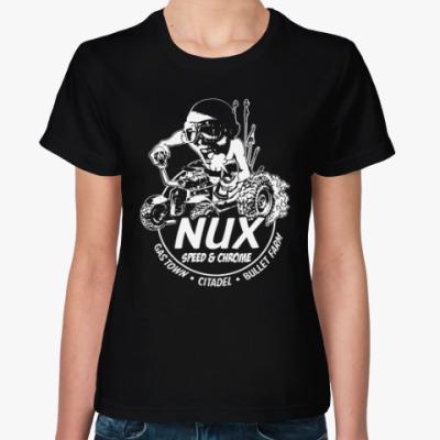 Женская футболка Безумный Макс. Накс