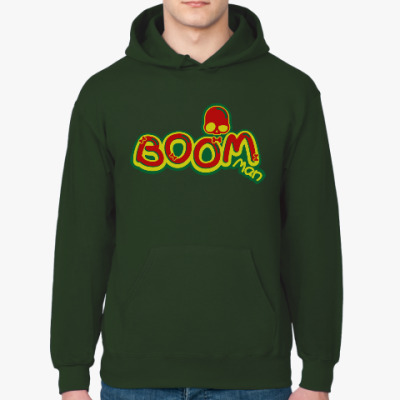 Толстовка худи Boom Man