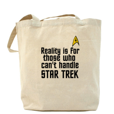 Сумка Reality vs Star Trek