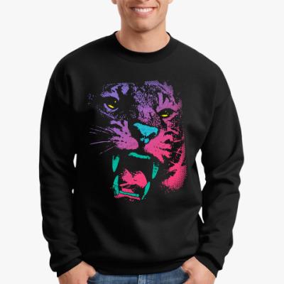 Свитшот Абстрактный Тигр