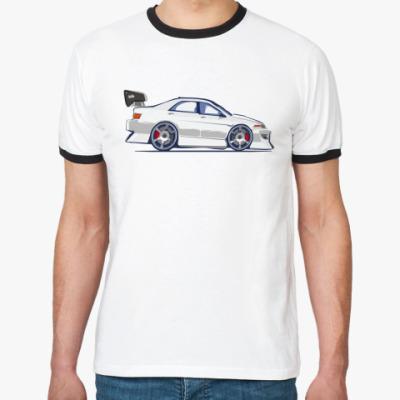 Футболка Ringer-T Toyota MarkII Style White