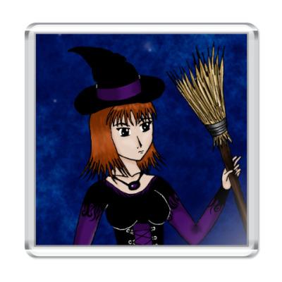 Магнит  Ведьма