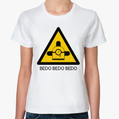 Классическая футболка Миньон