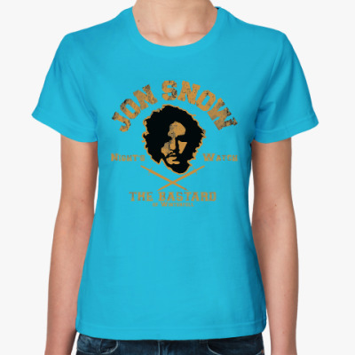 Женская футболка Jon Snow Игра престолов