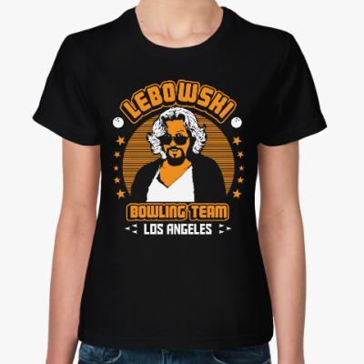 Женская футболка Чувак (Большой Лебовский)