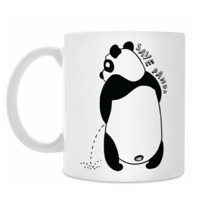 Кружка Save Panda