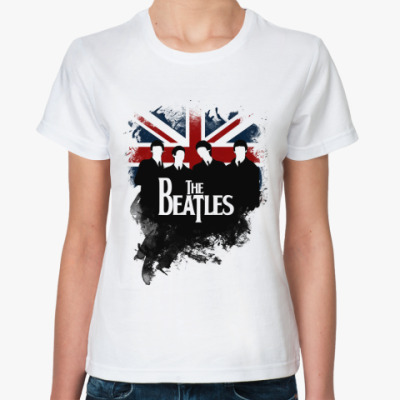 Классическая футболка The Beatles  футболка