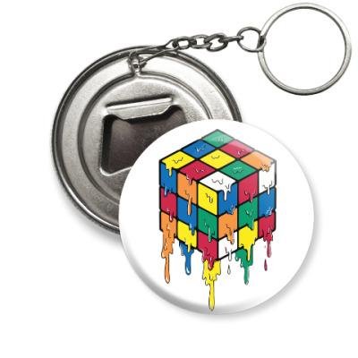 Брелок-открывашка Кубик Рубика | Спидкубинг
