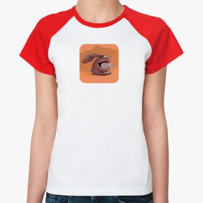 Женская футболка реглан  Отношения (жен.)