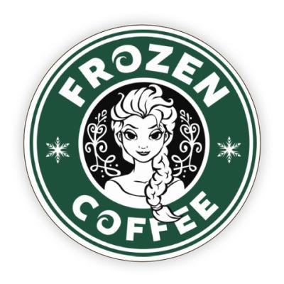 Костер (подставка под кружку) Frozen coffee
