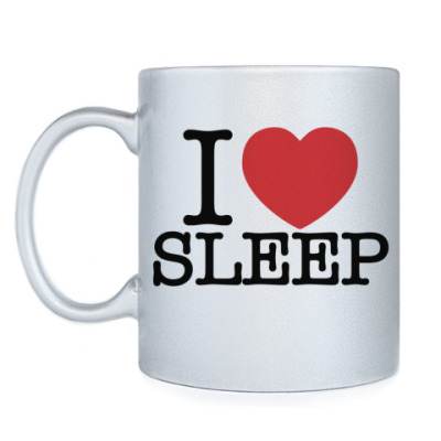 Кружка I love sleep