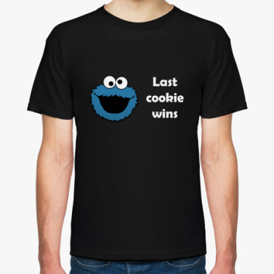 Футболка Cookie monster / монстр Печенька