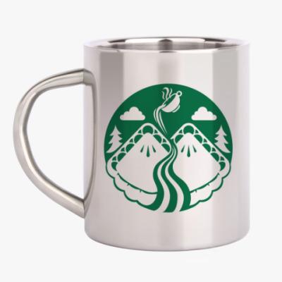 Кружка металлическая Twin Peaks coffee Starbucks