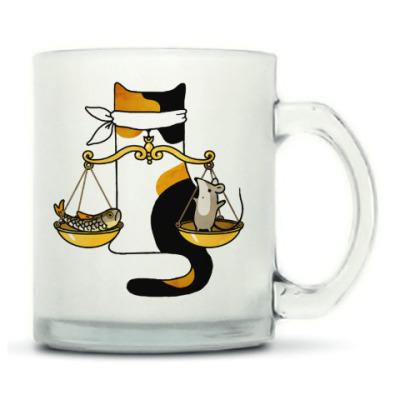 Знак Зодиака Весы и кот