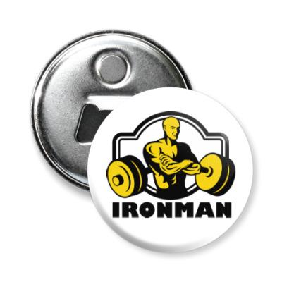 Магнит-открывашка Ironman