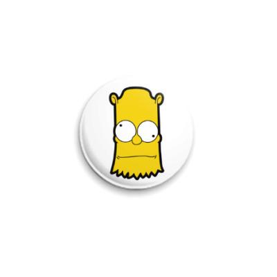 Значок 25мм Crazy Bart