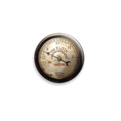 Значок 25мм Тахометр