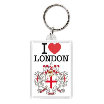 Брелок Я люблю Лондон