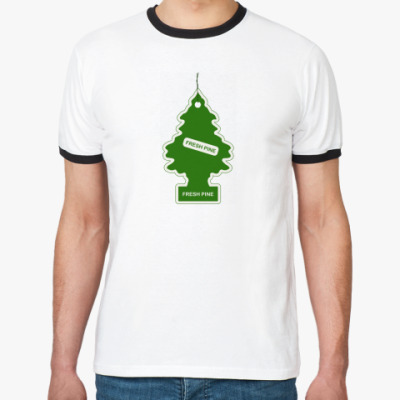 Футболка Ringer-T Fresh Pine