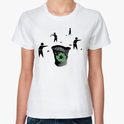 Классическая футболка Recycle