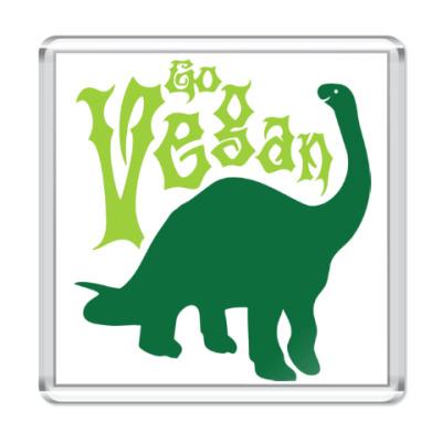 Магнит Go Vegan