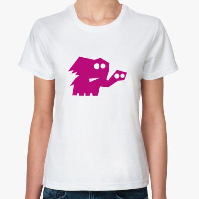 Классическая футболка Слоник
