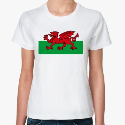 Классическая футболка Флаг Уэльса