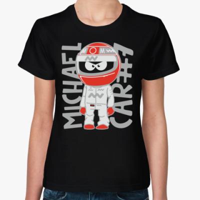 Женская футболка MICHAEL