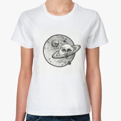 Классическая футболка Сатурн