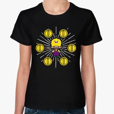 Женская футболка Варио