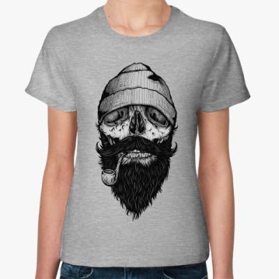 Женская футболка Хипстер Пират