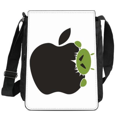 Сумка-планшет Голодный андроид