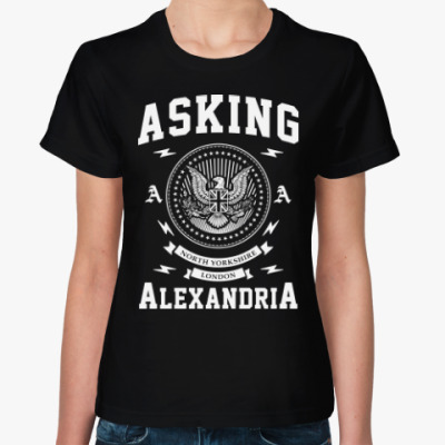 Женская футболка Asking Alexandria