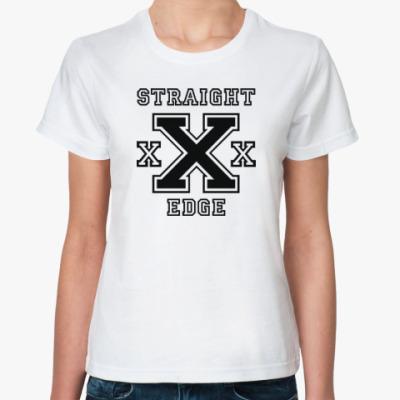 Классическая футболка Straight Edge