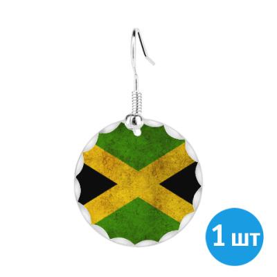 Серьги Ямайка